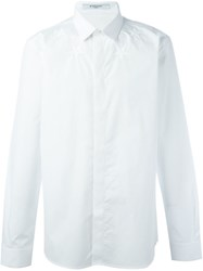Givenchy Star Embroidered Shirt White