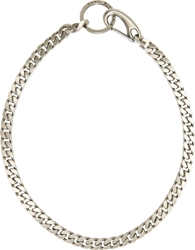 Diesel Black Gold Silver Lobster Claw Antille Necklace