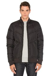 Penfield Vanleer Down Insulated Bomber Black