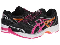 Asics Gel Equation 8 Black Hot Pink Orange Women's Running Shoes