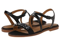 Enzo Angiolini Jewelana Black Black Synthetic Women's Dress Sandals