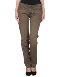 Cellar Door Denim Pants Dark Brown