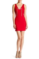 Amanda Uprichard Serena Dress Red