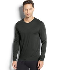 32 Degrees Heat By Weatherproof Thermal Long Sleeve Crew Deep Forest