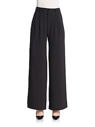 Romeo And Juliet Couture Wide Leg Trousers Black