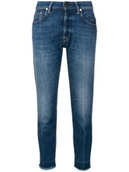 Golden Goose Deluxe Brand Jolly Cropped Jeans Blue