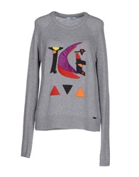 Ice Iceberg Sweaters Grey