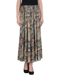 Aniye By Long Skirts Khaki
