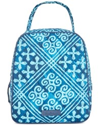 Vera Bradley Signature Lunch Tote Cuban Tiles
