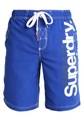 Superdry Swimming Shorts Voltage Blue Neon Blue