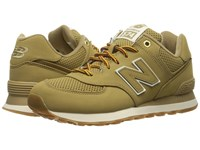 New Balance Ml574 Linseed Synthetic Men's Shoes