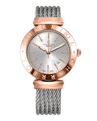 Charriol 40Mm 18K Rose Gold And Steel Large Alexandre C Three Hand Watch