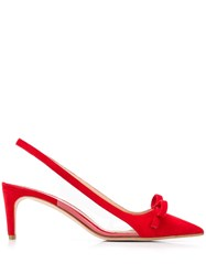 Red Valentino V Sandie Court Shoes Red