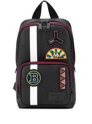 Bally Multi Logo Patch Logo Embroidered Backpack 60