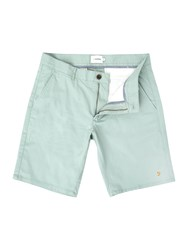 Farah Men's Hawk Chino Shorts Mint