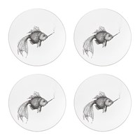 Rory Dobner Smokey Fish Placemat Round Set Of 4