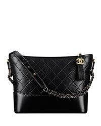 Chanel's Gabrielle Hobo Bag Black