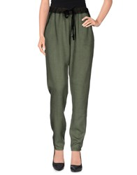 Ag Adriano Goldschmied Trousers Casual Trousers Women Military Green