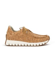 Rombaut Bay Sneakers Men Leather Cork Rubber 43 Brown