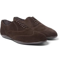 Harry's Of London Harrys Grant Kudu Suede Oxford Shoes Brown