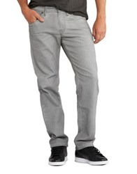 Silver Jeans Eddie Relaxed Tapered Light Grey