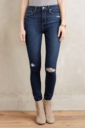 Anthropologie Paige Margot Distressed Skinny Jeans Elia Destructed 27 Pants