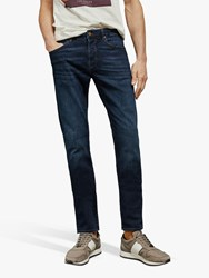 Ted Baker Sosopop Straight Fit Jeans Blue