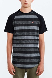 Staple Nightshade Stripe Tee Grey