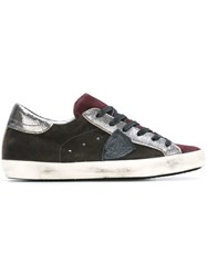 Philippe Model Lace Up Sneakers Grey