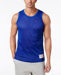 Champion Men's Mesh Tank Top Surf The Web