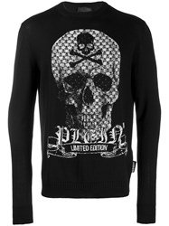 Philipp Plein Skull Jumper Black