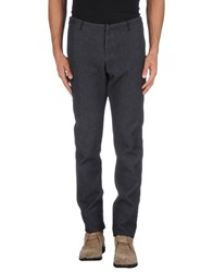 Individual Sentiments Trousers Casual Trousers Men Dark Blue