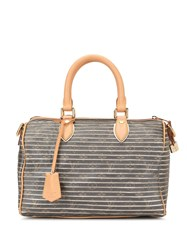 Louis Vuitton Vintage Speedy Bandouliere 30 Eden Argent Brown