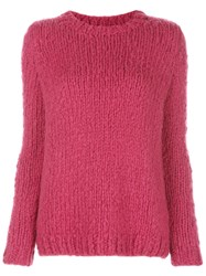 Gabriela Hearst Knitted Jumper Red