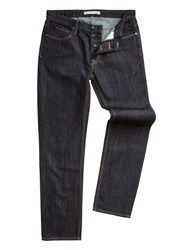 Racing Green Dene Straight Fit Rinse Wash Rigid Jean Denim Rinse