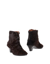 Alex Footwear Ankle Boots Dark Brown