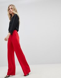 Ivyrevel Wide Leg Jersey Trouser Red