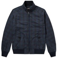 Baracuta G9 Light Harrington Jacket Blue