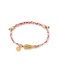 Alex And Ani Wing Precious Threads Bracelet Gold