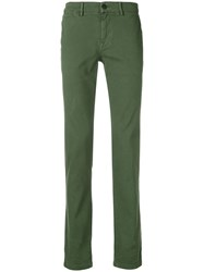 7 For All Mankind Slim Fit Chinos Green