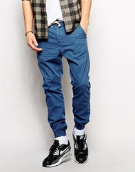 Pull And Bear Pullandbear Skinny Sweatpants Blue