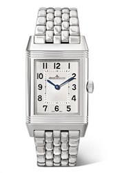 Jaeger Lecoultre Reverso Classic Thin 24.4Mm Medium Stainless Steel Watch Silver