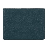 Liberty London Embossed Travel Card Holder Petrol