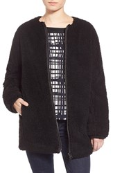 Women's Madewell 'Cocoon' Fleece Coat