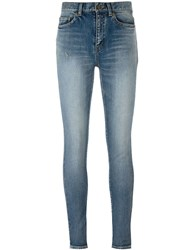 Saint Laurent Classic Skinny Jeans Blue