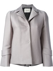 Dorothee Schumacher Single Breasted Jacket Grey