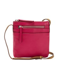White Stuff Mini Leila Crossbody Bag Raspberry