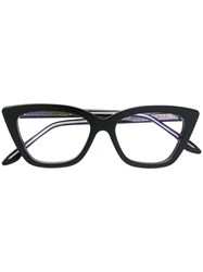 Cutler And Gross Cat Eye Glasses Black