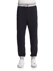 Alternative Apparel French Terry Jogger Pants True Black