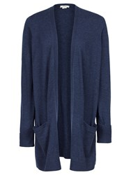 Fat Face Amber Edge To Edge Cardigan Navy